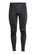 Running tights - Black - Men | H&M 2