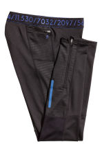 Running tights - Black - Men | H&M 3