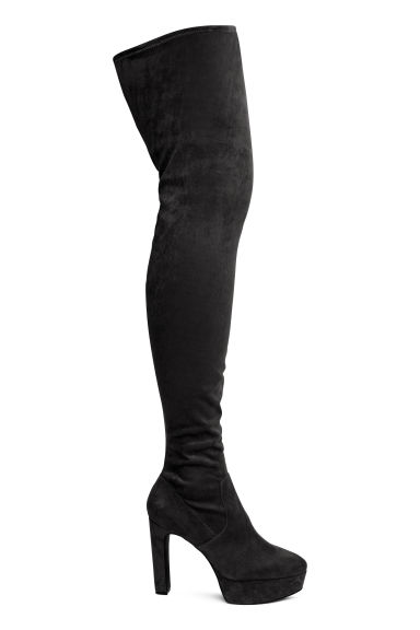 Thigh boots - Black - Ladies | H&M 1