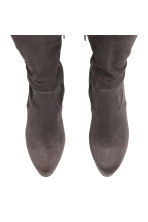 Thigh boots - Dark grey - Ladies | H&M 2
