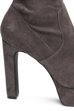 Thigh boots - Dark grey - Ladies | H&M 4