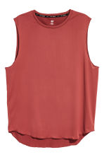 Top training - Rouge rouille - HOMME | H&M CH 2