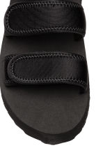 Scuba platform sandals - Black - Ladies | H&M 3