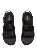 Scuba platform sandals - Black - Ladies | H&M CN 2