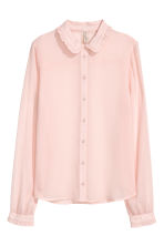Chiffon blouse - Old rose - Ladies | H&M 2