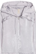Satin jacket - Heather purple - Ladies | H&M CN 3
