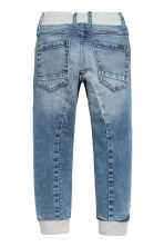 Super Soft denim joggers - Light denim blue -  | H&M 2
