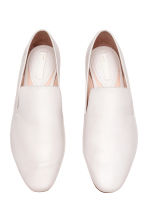 Leather loafers - White - Ladies | H&M 2