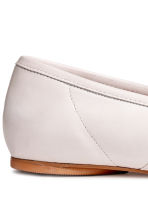 Leather loafers - White - Ladies | H&M 4