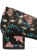 Jacquard-patterned shoes - Black/Floral - Ladies | H&M 5
