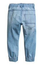 Denim joggers - Light denim blue - Kids | H&M CN 2