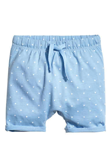 Jersey shorts - Blue/Star - Kids | H&M 1