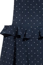 Spotted dress - Dark blue/Spotted -  | H&M 4