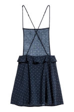 Spotted dress - Dark blue/Spotted - Ladies | H&M CN 3