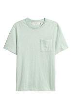 Marled T-shirt - Mint green - Men | H&M 2