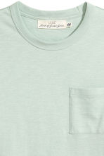 Marled T-shirt - Mint green - Men | H&M 3