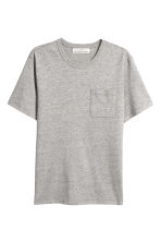Melerad t-shirt - Grå - Men | H&M FI 2
