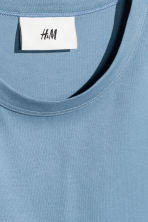 Pima cotton T-shirt - Sky blue - Men | H&M 3