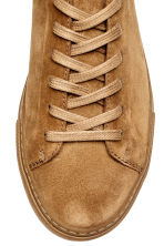 Suede trainers - Camel - Men | H&M 4