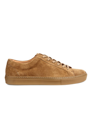 Suede trainers - Camel - Men | H&M 1