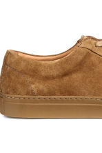 Suede trainers - Camel - Men | H&M 5