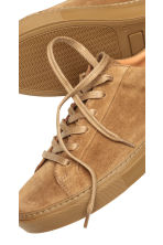 Suede trainers - Camel - Men | H&M 3