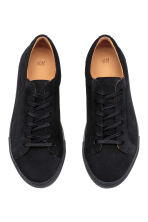 Suede trainers - Dark blue - Men | H&M CA 2