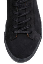 Suede trainers - Dark blue - Men | H&M CA 3