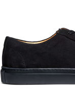 Suede trainers - Dark blue - Men | H&M CA 4