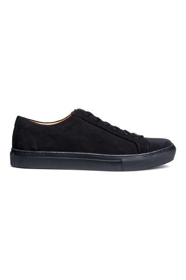 Suede trainers - Dark blue -  | H&M GB