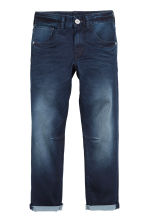 Relaxed Tapered fit Jeans - Donker denimblauw - KINDEREN | H&M BE 1