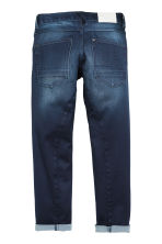 Relaxed Tapered fit Jeans - Donker denimblauw - KINDEREN | H&M BE 2