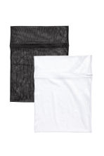 2-pack washing bags - White - Ladies | H&M CN 1