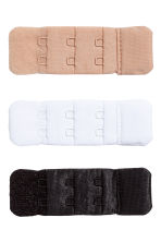 3-pack bra strap extenders - Black/White/Beige - Ladies | H&M IE 1