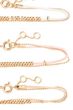3-pack bracelets - Powder - Ladies | H&M 2