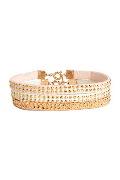 3-pack bracelets - White/Gold - Ladies | H&M 1