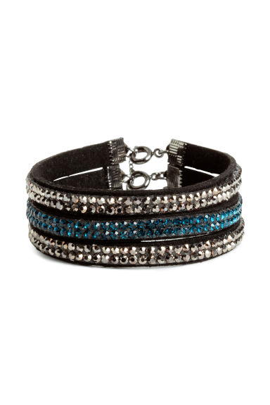 3-pack bracelets - Black/Silver - Ladies | H&M CN