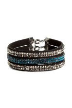 3-pack bracelets - Black/Silver - Ladies | H&M 1