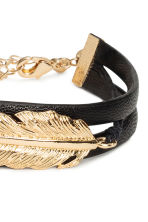 Imitation leather bracelet - Gold - Ladies | H&M 2