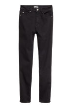 Stretchbroek - Slim fit - Zwart - DAMES | H&M NL 2