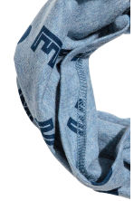 Cotton jersey tube scarf - Blue marl/Mickey Mouse -  | H&M 2