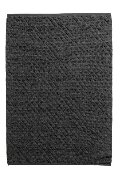 Wool-blend rug - Anthracite grey - Home All | H&M CN 1