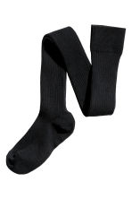 Over-the-knee socks - Black - Ladies | H&M GB 1