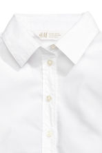 Cotton shirt - White - Kids | H&M 3