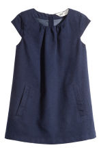 Twill dress - Dark blue - Kids | H&M 2