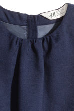 Twill dress - Dark blue - Kids | H&M 3