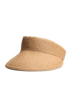 Straw visor - Natural - Ladies | H&M CA 1