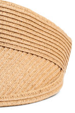 Straw visor - Natural - Ladies | H&M 3