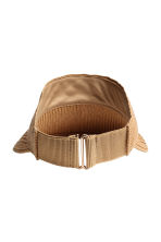 Straw visor - Natural - Ladies | H&M CA 2
