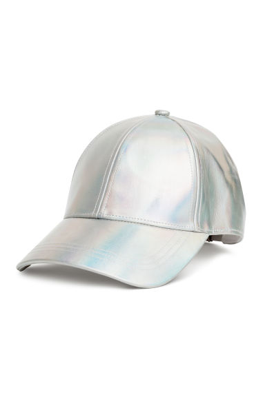Shimmering cap - Silver - Ladies | H&M IE 1